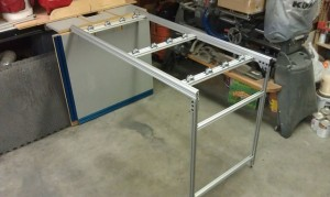 Ezee-Feed unit made from 80/20 Aluminum Accessories