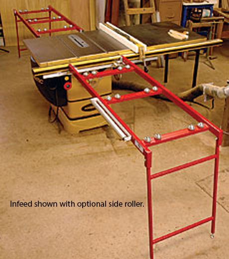Ezee Feed   Infeed And Outfeed Tables For The Table Saw
